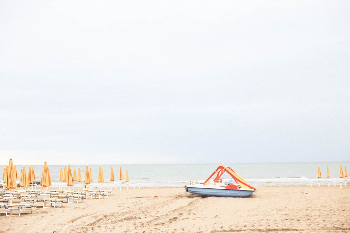jesolo beach travel italy sea